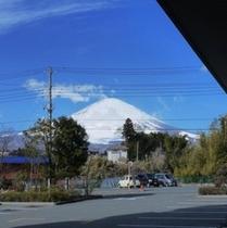 エントランス:富士山