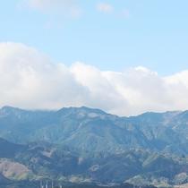 ホテルトレンド西条からの景色