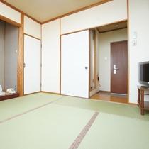 ★和室6畳★家族団らん♪くつろぎの和室でほっこり旅行