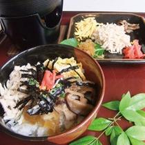 朝食◆鶏飯