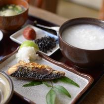 朝食◆朝粥膳
