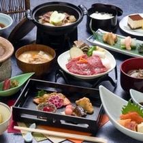 蔵王山懐膳/山形の味覚がふんだんに味わえます※イメージ