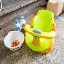 お風呂用赤ちゃんチェアー&ベビーシャンプー☆アンパンマンの洗面器でご機嫌に!