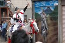 やぶさめ祭り(下吉田浅間神社・9月)