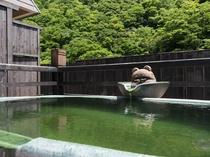 屋上露天風呂 空の湯にあるわらべの湯