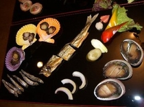 燻製アラカルトプランの豪華前菜