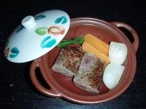 松坂牛ロースの九谷焼プラン