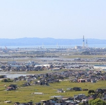 富山県【新湊方面の景色】