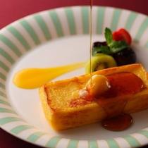 ホテルオークラ神戸自慢のフレンチトースト