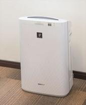 加湿機能付空気清浄機 全室完備!