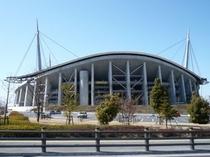 【周辺施設】豊田スタジアムへは一番近いホテルです。徒歩5分