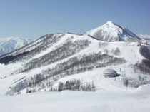 舞子スキー場山頂ゲレンデ