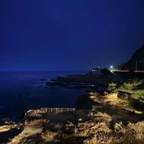 景色 夜 海
