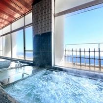 最上階「展望大浴場」