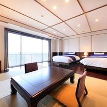 客室最上階から絶景オーシャンビューを展望「和洋スーペリア」