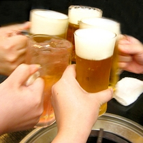 ビールでかんぱい!(イメージ)