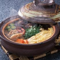 キノコ鍋★2名様以上は「土鍋」でお出しします。
