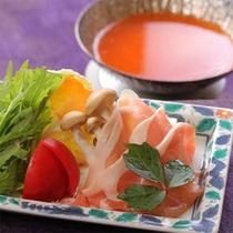 栃木ゆめポークのトマト鍋