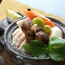 【料理一例】松茸土瓶蒸し
