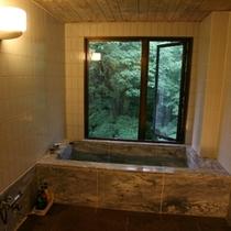 【特別室『りんどう』の大理石風呂】お部屋で温泉を満喫できます♪