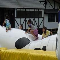丸沼高原「子供広場」遊び風景