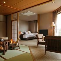 特別フロア【和み】展望檜風呂付特別室B