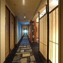 客室廊下(イメージ)