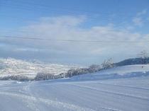 山荘からの風景