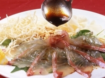 海鮮中華刺身