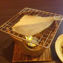 *焼き魚は自分で炙るのでアツアツをご賞味いただけます(一例)