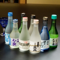 *富山の旨いものに合う地酒を取り揃えております