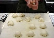 自家製パン1次成型