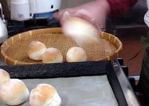 自家製パン焼き上がり