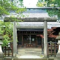 上杉鷹山を祀る松岬神社