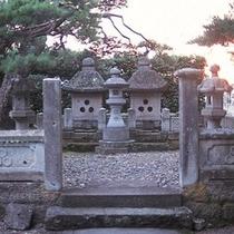 直江兼継を祀る林泉寺