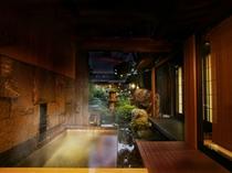 露天風呂客室(天目・一例)