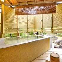 露天付き客室は全8室。少しづつ間取りやお風呂の形が違ったりします。リピートご利用の際のお楽しみに!