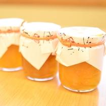 実はだいだい(橙)は熱海市が生産量日本一。地元の主婦手作りのだいだいマーマレードは当館売店にて。