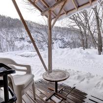 *◆別館◆【ペット専用】和室8畳/冬は真っ白な雪景色をお部屋からお楽しみいただけます。