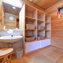 *貸切露天風呂/2か所ある貸切露天は、ご予約なしで空いていれば何度でもご利用可能。