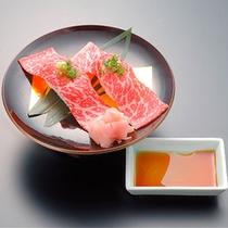 *お料理一例/前沢牛など、美味しいお肉もご用意しております。※献立は仕入れ状況により異なります。