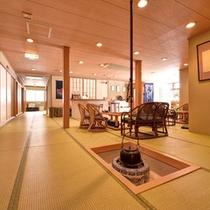 *◆別館◆ロビー/靴を脱いでリラックス。別館館内はすべて畳敷きとなっております。