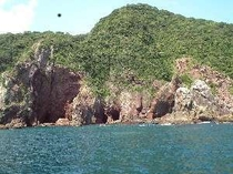 横浪半島 洞窟