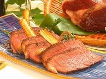 屈斜路産エゾシカ肉のロースト