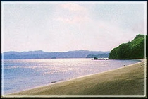 国定公園渚の百選1
