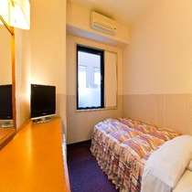 別館シングルルームの一例