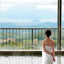 展望大浴場からの眺め