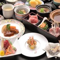 豚しゃぶやお造りなど和食の和会席料理