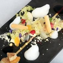 【D+KIRISHIMA】【OTUKURI/夕食一例】新鮮な海の幸を新しい感性で・・・。
