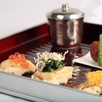 【D+KIRISHIMA】【前菜/夕食一例】鹿児島の旨みを魅せる!彩り鮮やかな前妻